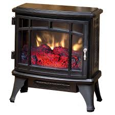 duraflame 8511 black infrared electric fireplace stove with remote