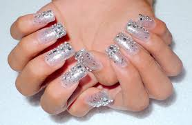 blinged out nail designs displaying 20 u003e images for bling up nails