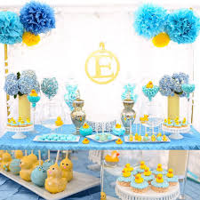 Lil Man Baby Shower Theme Candy Table Was Set Up By Crystals Candy N Dessert Cakes Were