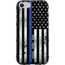Subdued American Flag With Thin Blue Line Custom Printed Limited Edition Authentic Made In U S A Magpul