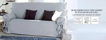 housse canapé gris photo housse de canapé 3 places