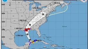 map of gulf coast florida u s gulf coast braces for fast approaching hurricane nate sun