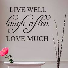 popular wall sticker sentences love buy cheap wall sticker live well laugh often love much simple sentence wall sticker pvc removable quotes diy wall art