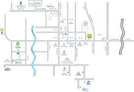 Noida Metro Route Map by Mahagun Moderne In Sector 78 Noida Price Location Map Floor