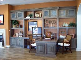 Home Office Double Desk Built In Home Office Designs Pleasing Decoration Ideas Built In