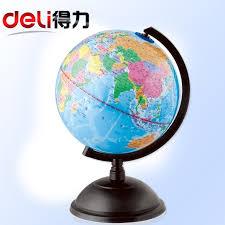 usd 24 64 multi province of deli deli 3033 globe ornaments 20cm map