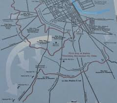 Map Of Nashville Battle Of Nashville In Search Of In Search Of History Tn