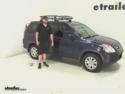 honda crv cargo box thule roof cargo carrier review 2006 honda cr v etrailer com