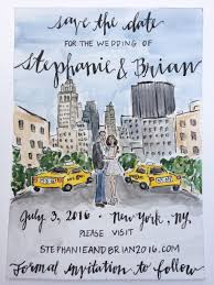 custom save the dates custom save the date watercolor painting 5 x 7 2449272 weddbook