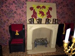 my vintage dollhouses barton tudor furniture in a 1934 triang no 24