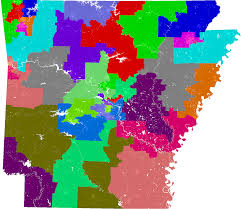 New York State Assembly District Map by Arkansas Senate Redistricting