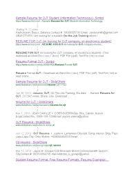 Pdf Format For Resume Free Cover Letter Examples For Resume Cover Letter Examples Sample