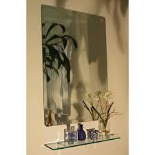 regency 24 x 36 rectangular beveled edge mirror spancraft wall