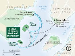 york map us maps statue of liberty national monument u s national park
