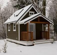 tiny house kits this one might be insulated and able to handle the cold mn winters