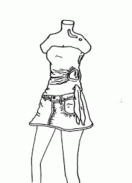 mannequins coloring pages free