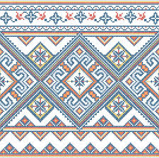 ukraine pattern vector ukraine pattern stock vector vector art 86135640