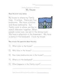 second grade comprehension worksheets free worksheets