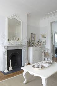 Living Room Mirrors by Best 25 Shabby Chic Fireplace Ideas On Pinterest Haunted