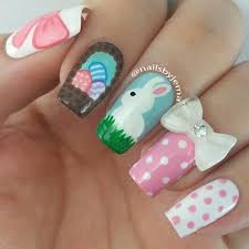 32 cute nail art designs for easter stayglam