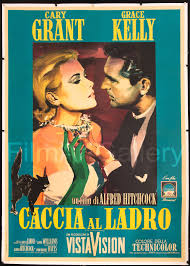 to catch a thief vintage original film movie poster