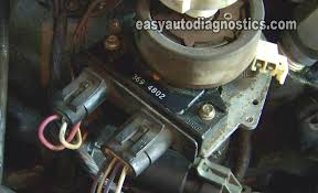 part 1 how to test the gm distributor mounted ignition module