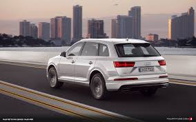 evo 2015 new photos of latest audi q7 in oryx white fourtitude com