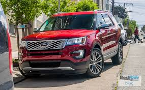 Ford Explorer Towing Capacity - review 2016 ford explorer platinum 4wd big and bold bestride