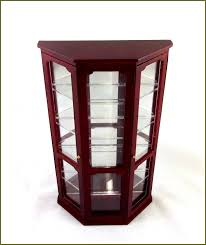 Curio Cabinet Lighting Cheap Ikea Detolf Glass Curio Display Cabinet Light Brown Sale