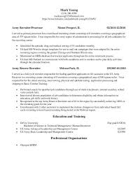 Us It Recruiter Resume Sample Unbelievable Army Resume 14 Army Recruiter Resume Sample Resumes