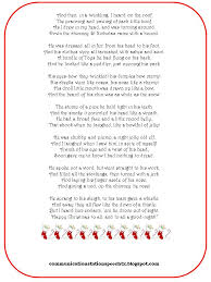 twas the before poem printable happy holidays