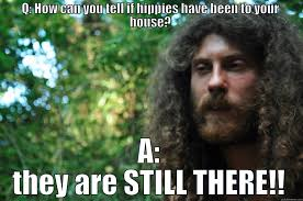 Hippie Memes - spaced out hippie quickmeme