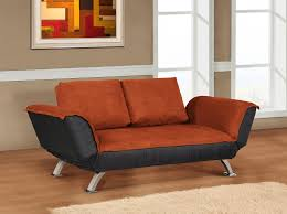 Loveseat Sofa Sleeper Brown Black Velver Loveseat Sofa Bed With Arm Ad Back Also