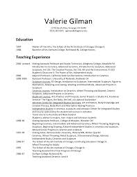 exle of college resume thesis writing guideline of vaasa resume college