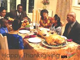 happy thanksgiving day from all of us at national bdpa bdpatoday