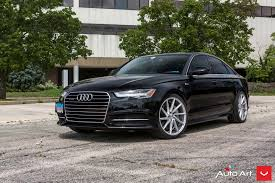 slammed audi a6 vossen wheels photo gallery