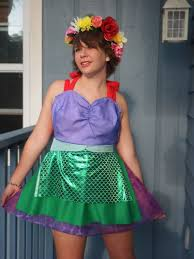 little mermaid apron from concept to creation how to make a