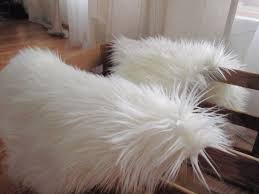 flooring comfy faux sheepskin rug for floor decor ideas
