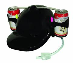 amazon com black drinking helmet soda hat toys u0026 games