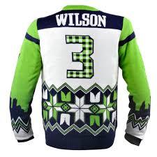 wilson seattle seahawks nfl player sweater