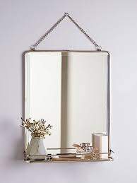 attractive ideas metal bathroom mirrors best 25 mirror with shelf