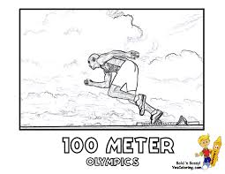 olympics summer coloring pages olympic game free sports