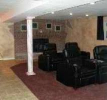 Basement Remodeling Naperville by R M H Networx