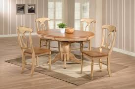 Butterfly Leaf Dining Tables Offer Convenient Expansion In Small - Dining room table with butterfly leaf