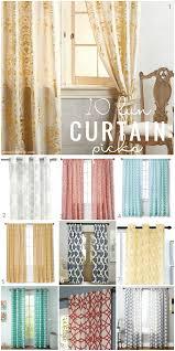 Colorful Patterned Curtains Curtain Picks Stylish Curtains Curtains Designs Staceysauer