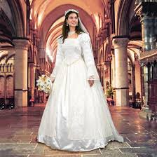 renaissance wedding dresses wedding gown veil renaissance dress museum replicas