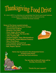 thanksgiving food drive flyer template for free festival collections