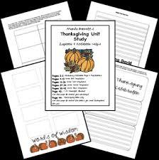 free thanksgiving lapbook thanksgiving unit studies and amanda