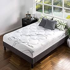 amazon com zinus memory foam 12 inch green tea mattress full