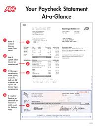 adp pay stub template fill online printable fillable blank